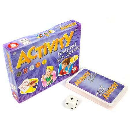 Настольная игра Piatnik Activity Вперед для детей piatnik настольная игра activity вперед детская версия piatnik