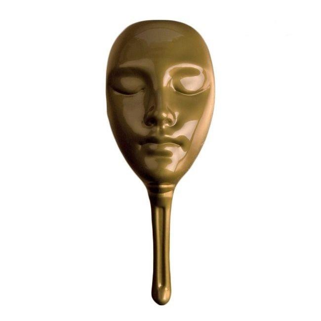 Настольная игра Нескучные игры Маска для мафии пластиковая золотая защитная маска для лица пластиковая