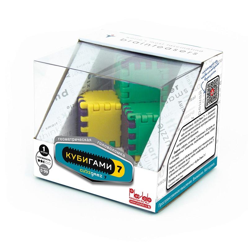 Головоломка PlayLab Куби-Гами (Cubi-Gami) настольные игры recent toys головоломка куби гами