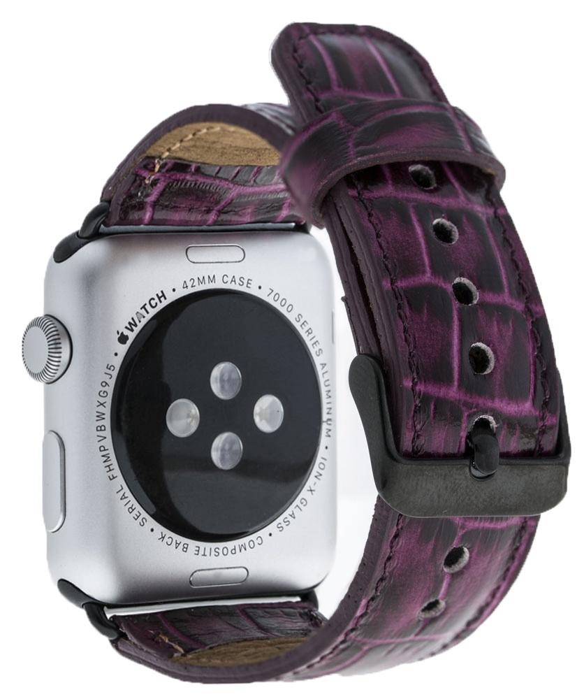 Ремешок для смарт-часов Bouletta для Apple Watch 42/44 mm Classic, фиолетовый