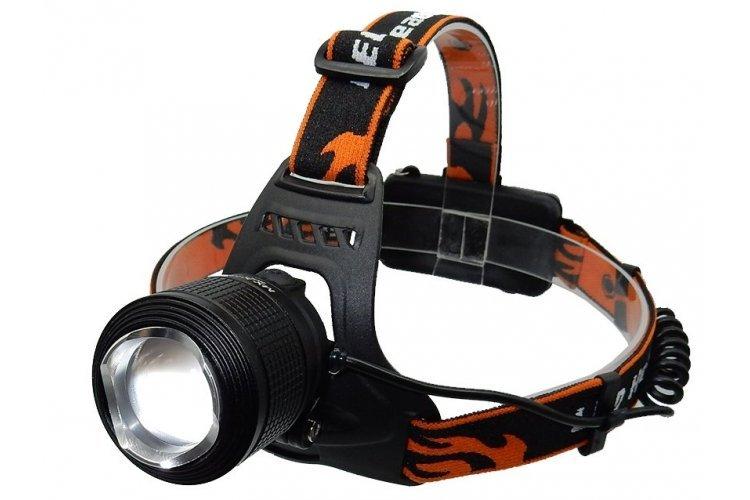 Налобный фонарь Поиск P-2199, черный