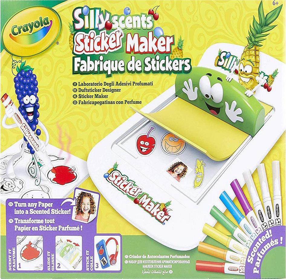Набор для создания ароматизированных наклеек Crayola, 74-7261