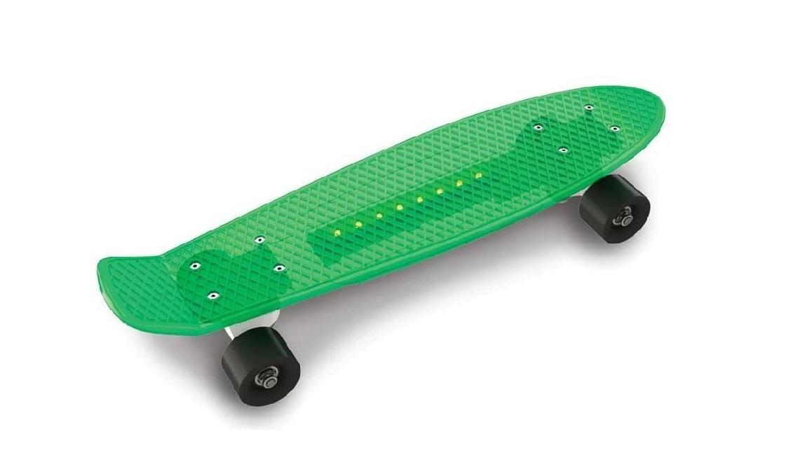 цена на Скейтборд Doloni Скейт, салатовый