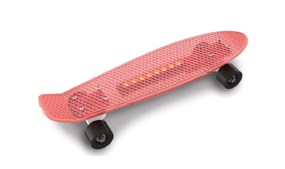 Скейтборд Doloni Скейт, красный