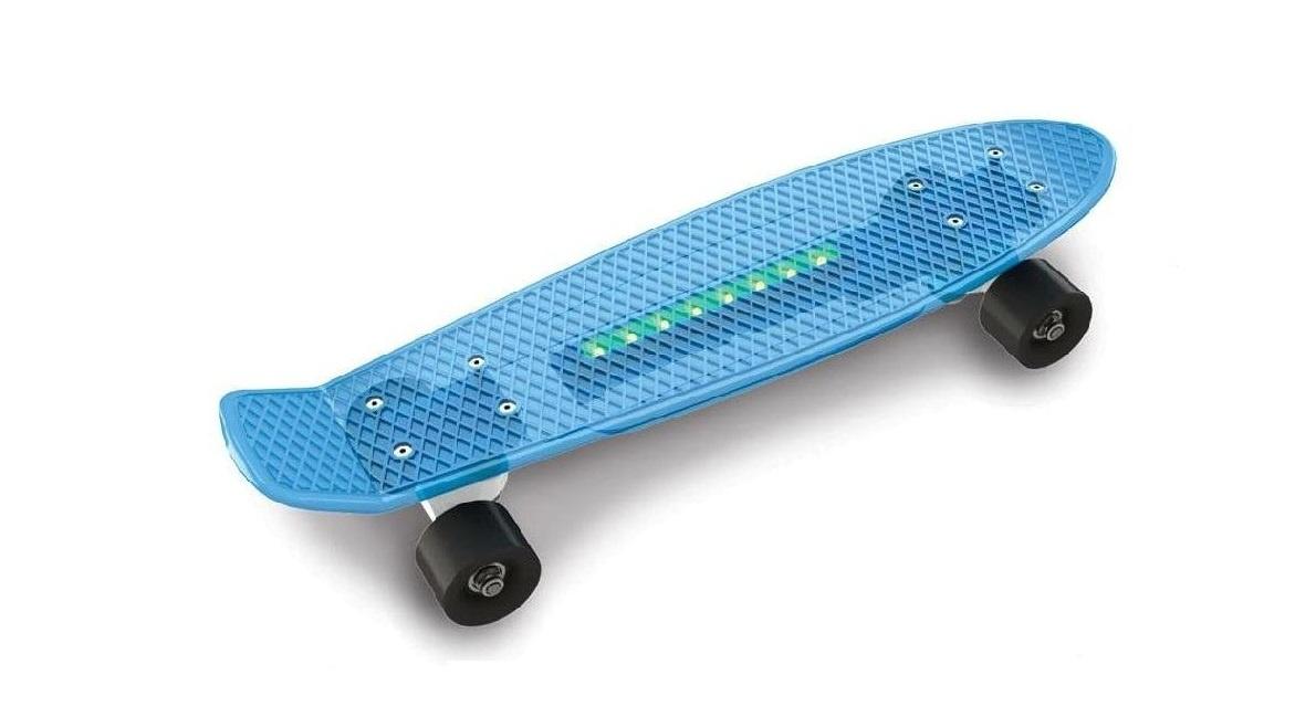 цена на Скейтборд Doloni Скейт, голубой