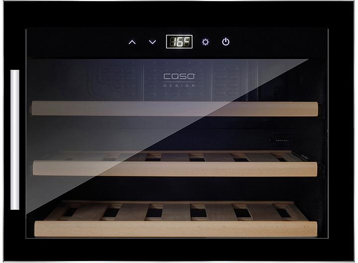 лучшая цена Холодильник винный CASO WineSafe 18 EB, черный