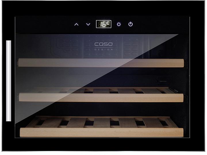 лучшая цена Холодильник винный CASO WineSafe 18 EB Inox, стальной