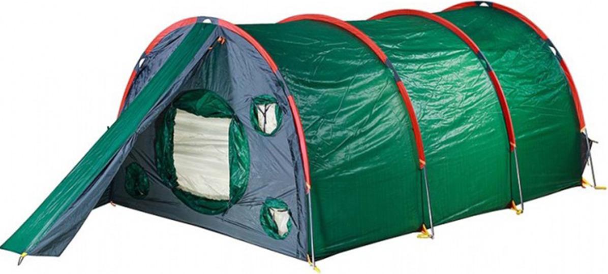 Палатка Red Fox Fox Cave 6, 14416, зеленый