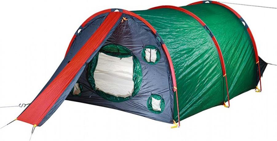 Палатка Red Fox Fox Cave 4, 14415, зеленый
