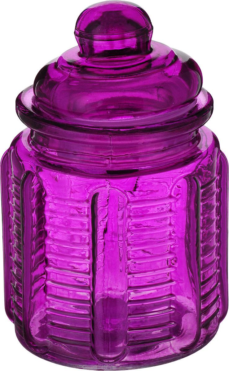 Банка для сыпучих продуктов Mayer & Boch, 27081-3, фиолетовый, 250 мл