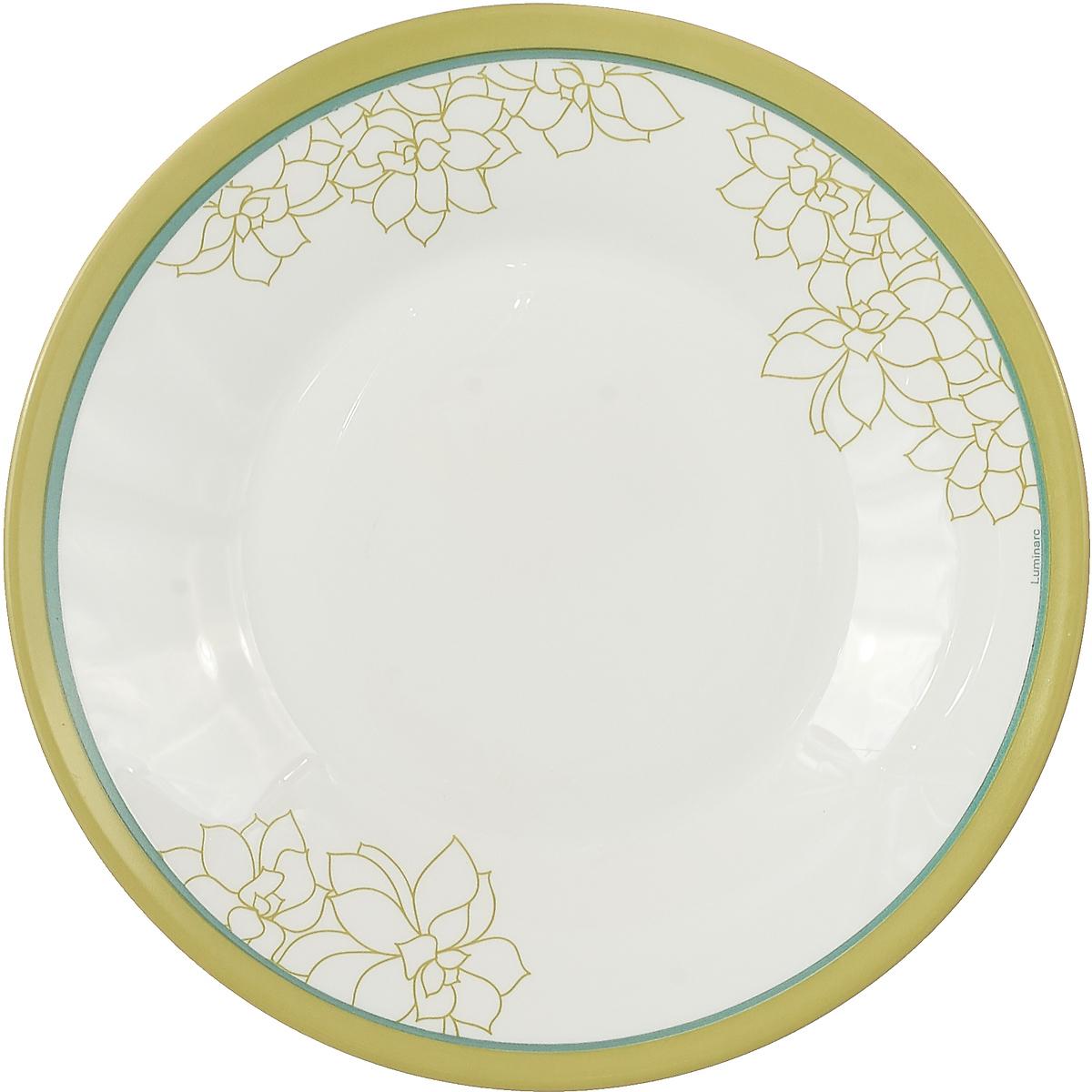 Тарелка десертная Luminarc Орбеа, L8286, белый, диаметр 22 смL8286