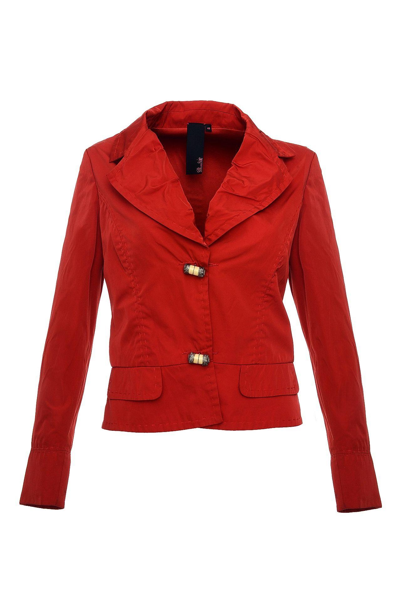 Куртка SILK AND SOIE куртка silk and soie