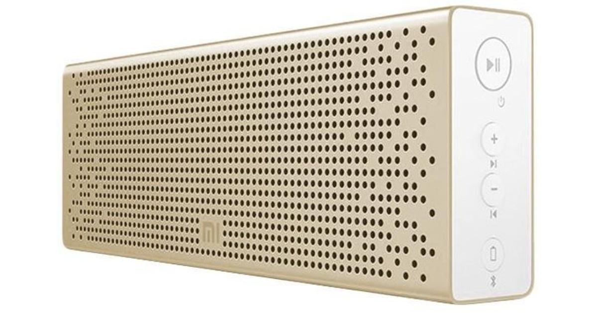 Беспроводная колонка Xiaomi Mi Bluetooth Speaker (золотая), золотой беспроводная bluetooth колонка norrka bts06
