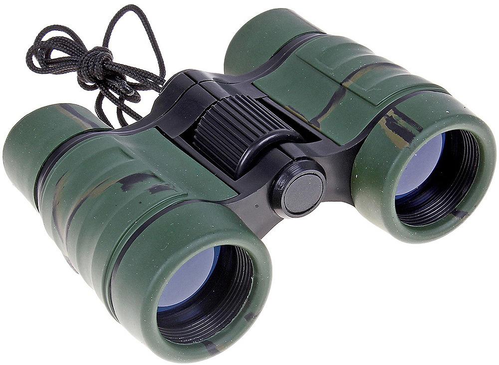 Бинокль 4х30, 645159, зеленый