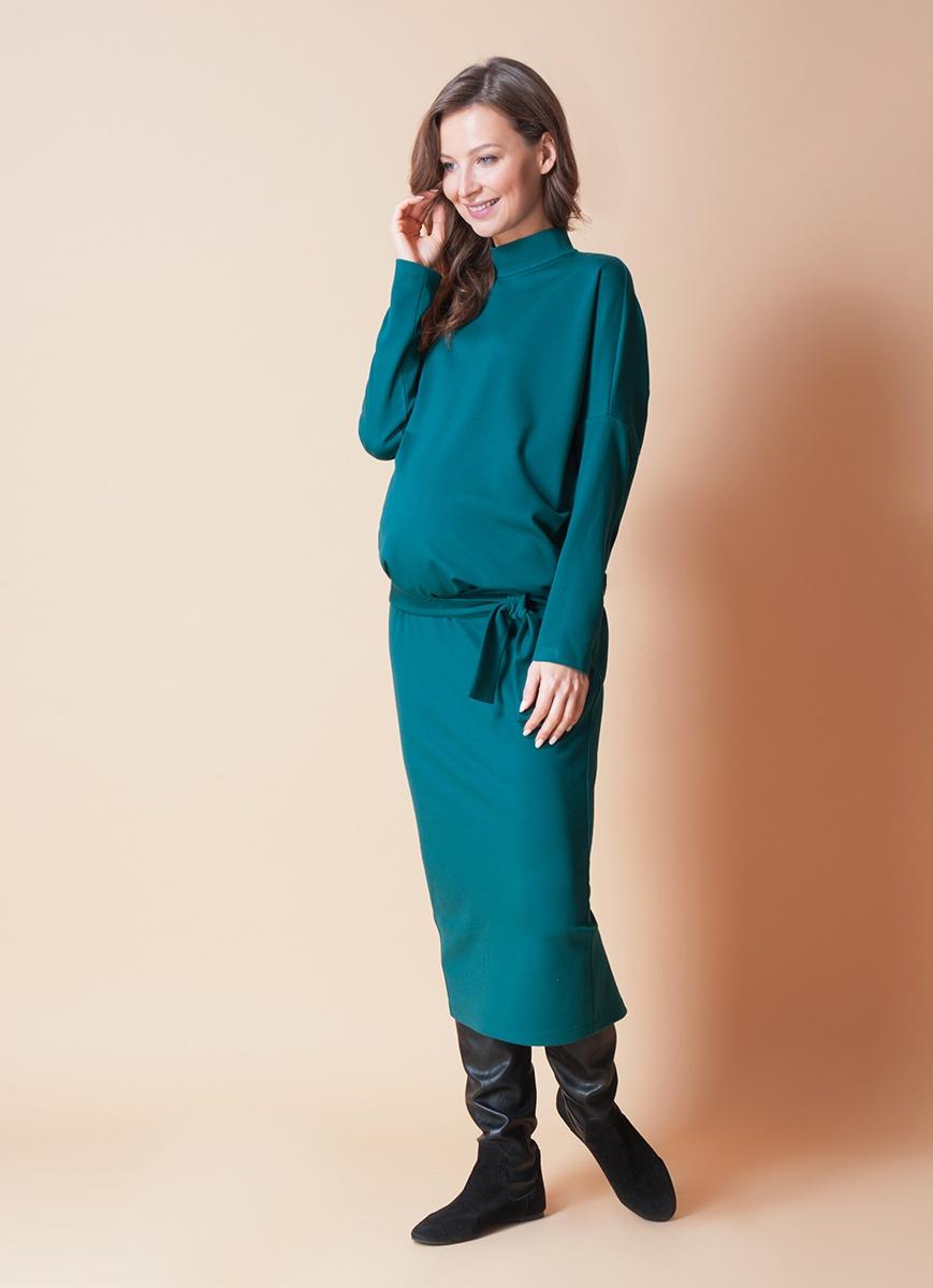 Платье Bornsoon костюм платье жакет alpama цвет изумрудный