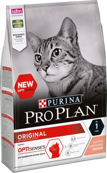 Корм сухой Pro Plan для стерилизованных кошек, с лососем, 400 г