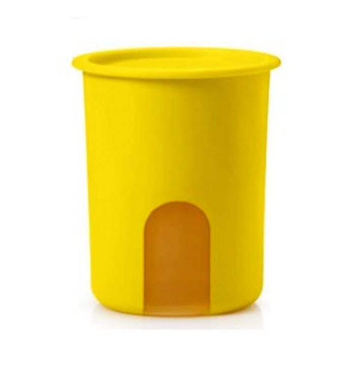 Контейнер пищевой Tupperware Напоминание, желтый дуршлаг tupperware г12 пищевой полимер