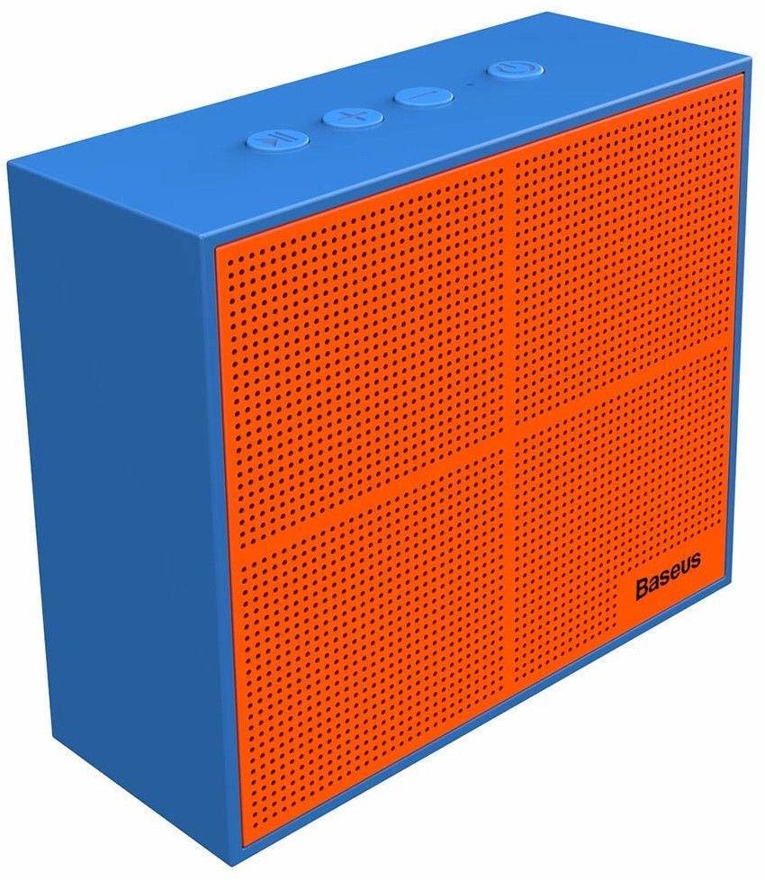 Беспроводная колонка Baseus NGE05-03, оранжевый, синий baseus encok w02 black