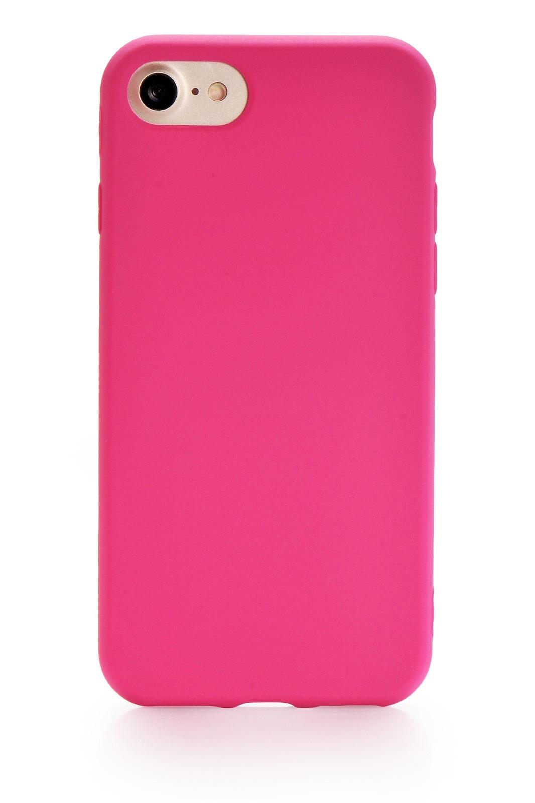 "Чехол для сотового телефона Gurdini Soft Lux (5) для Apple iPhone 7/8 4.7"", темно-розовый"