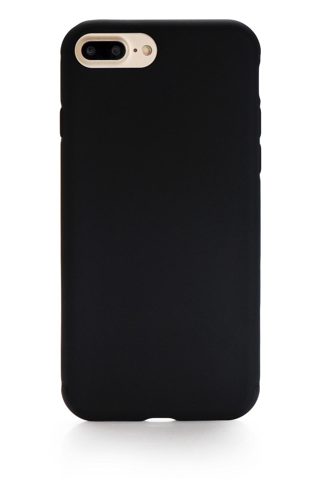 """Чехол для сотового телефона Gurdini Soft Lux (18) для Apple iPhone 7 Plus/8 Plus 5.5"""", черный"""
