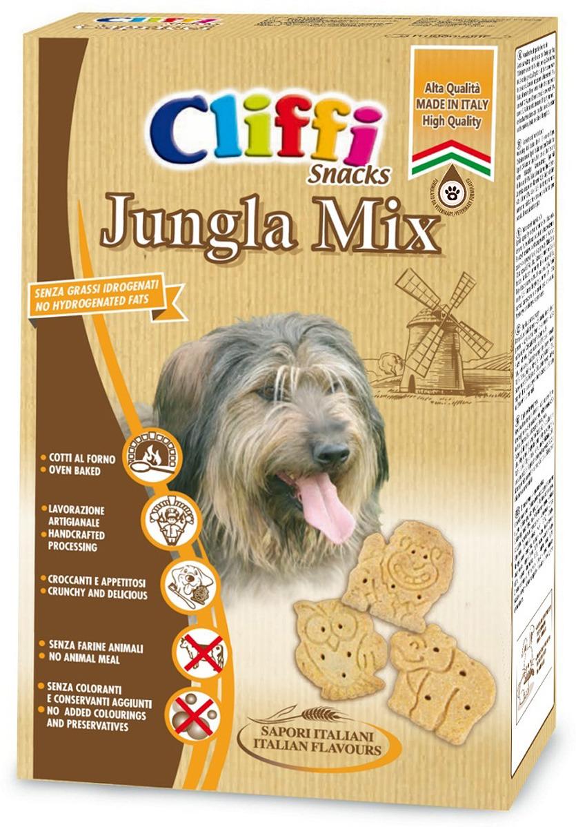 Лакомство Cliffi Jungla Mix Хрустящее печенье, для собак, 850 г
