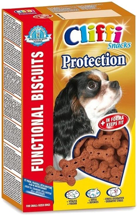 Лакомство Cliffi Protection Small Бисквиты Анти-Стресс, для собак мелких пород, 300 г