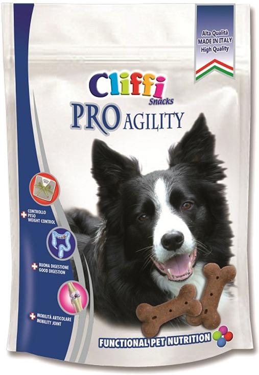 Лакомство Cliffi Pro Agility Snack Энергия, для собак, 100 г добавки fortrise