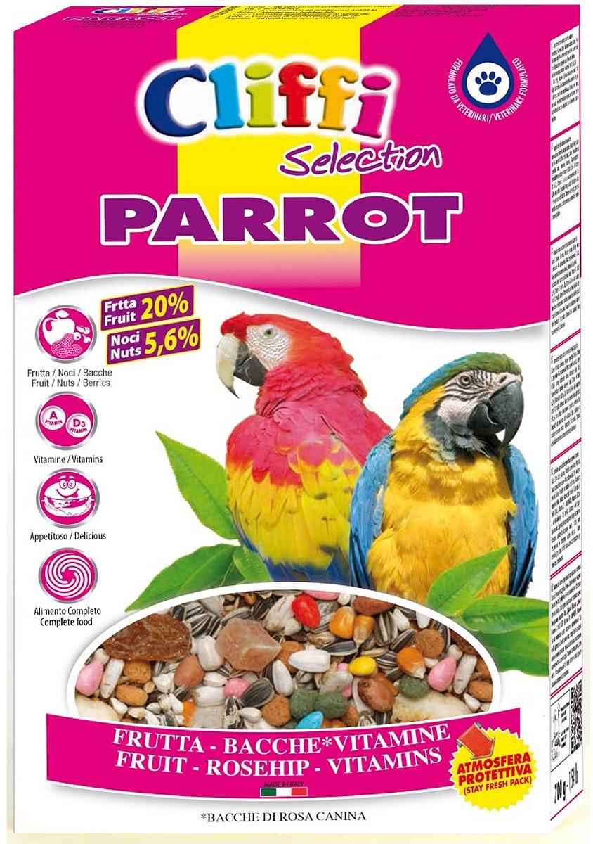 Корм сухой Cliffi Super Premium Parrot Ягоды Фрутти и орехи, для попугаев, 500 г