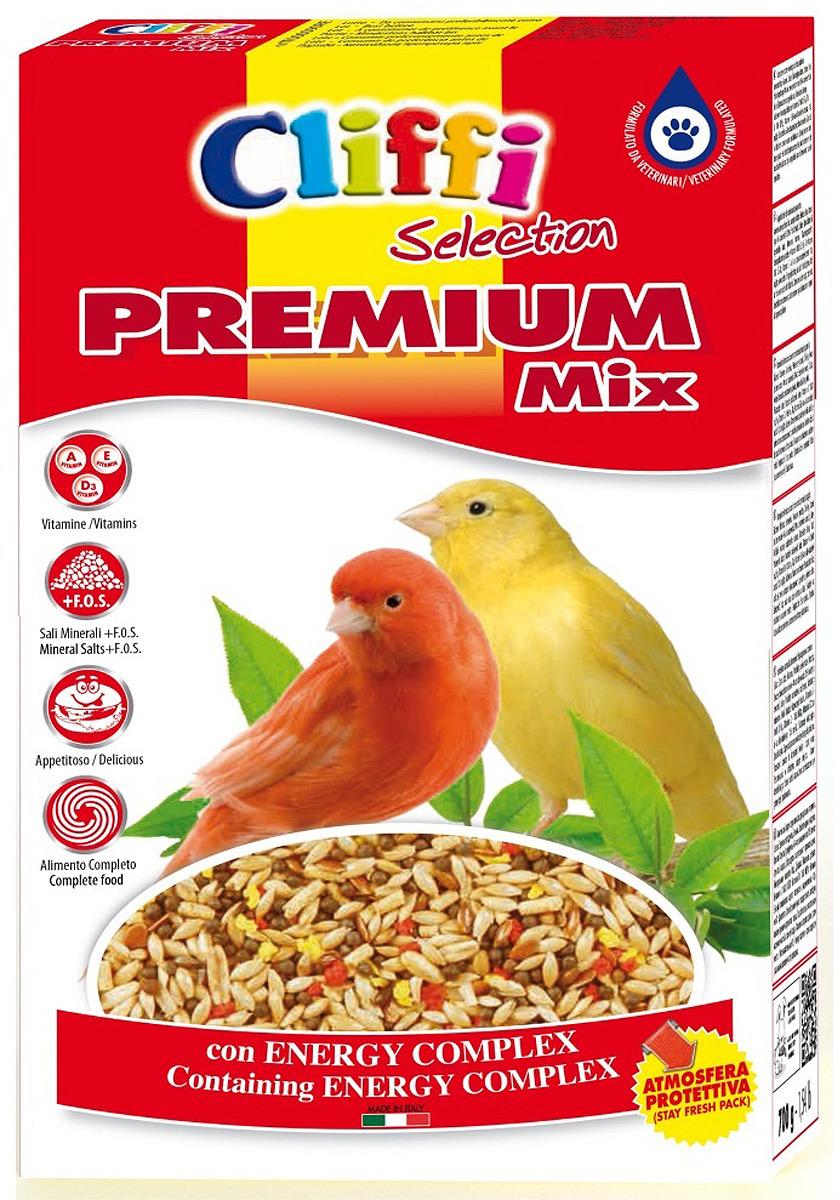 Корм сухой Cliffi Premium Mix Canaries, для канареек, 800 г хлебобулочные изделия