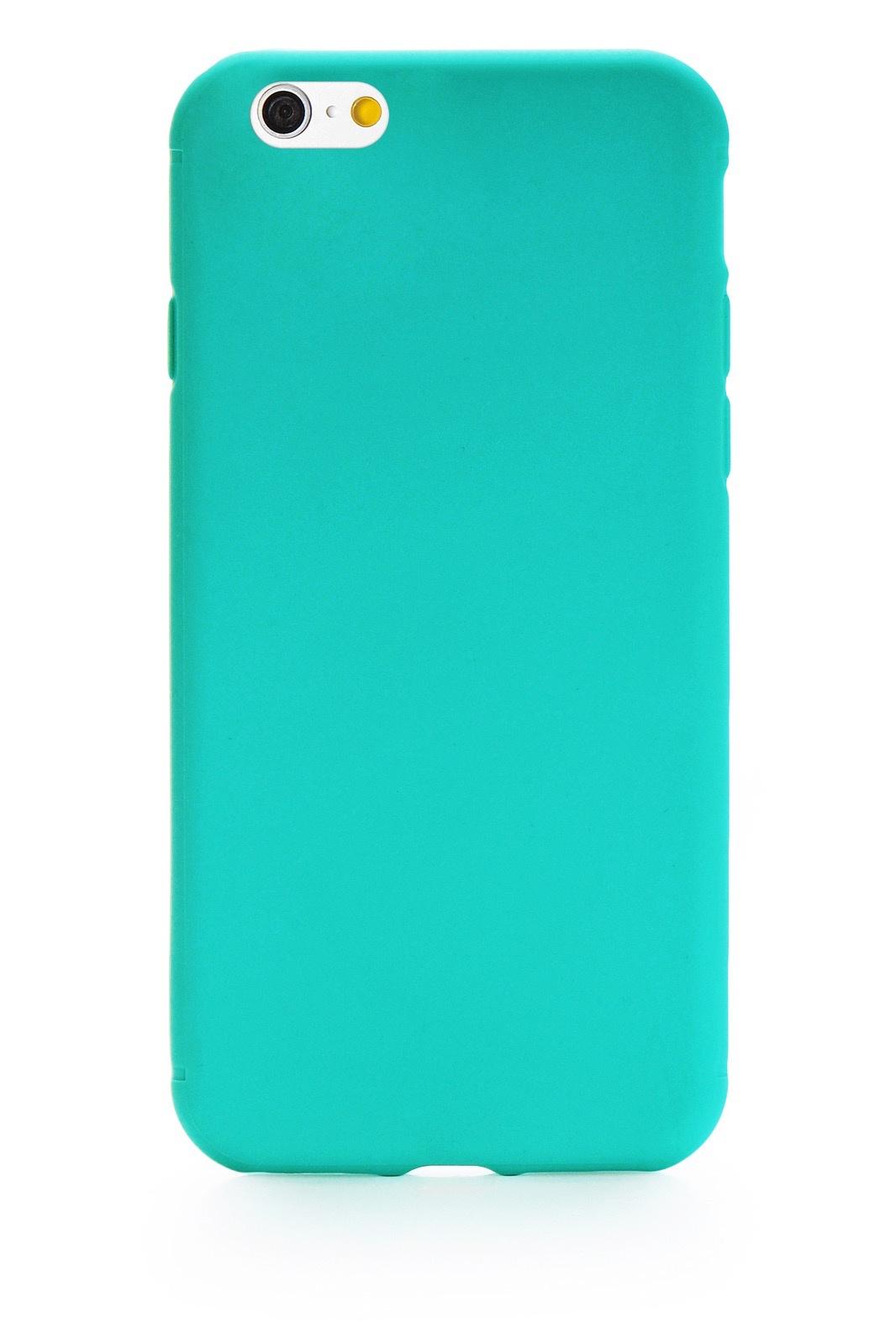 """Чехол для сотового телефона Gurdini Soft Lux 903761 для Apple iPhone 6/6S 4.7"""", светло-зеленый"""