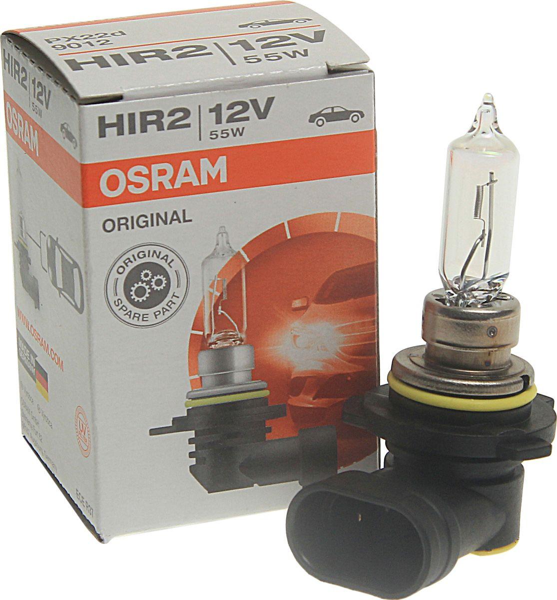 Лампа автомобильная Osram HIR2 (55) PX22d 12V, 9012
