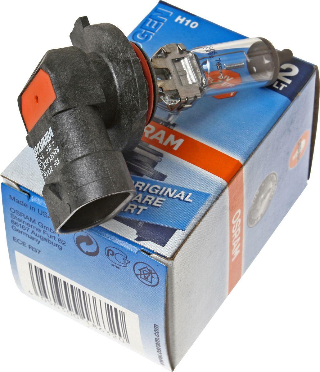 Лампа автомобильная Osram H10 (42) PY20d 12V, 9145RD лампа osram h10 42w 12v original line