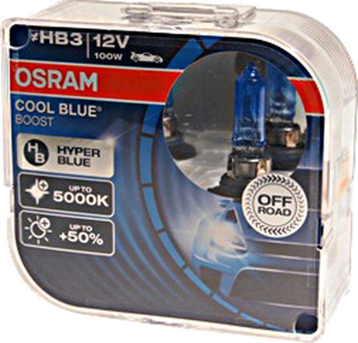 Лампа автомобильная Osram HB3/9005 (100) P20d +50% Cool Blue Boost 5000K 12V , 69005CBBHCB, 2 шт highscreen boost 2 se
