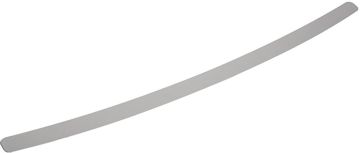 Накладка на задний бампер Rival для Volkswagen Polo V рестайлинг седан 2015-н.в., нерж. сталь. NB.S.5803.1 накладка на задний бампер нерж с логотипом jmt 36464 для toyota rav4 2015