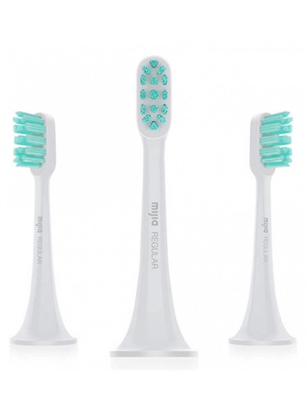 Сменные насадки для зубной щетки Xiaomi Sonic Electric Toothbrush 3шт crystal care plus professional sonic toothbrush with uv sanitizer white