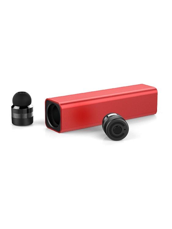 Наушники Earbuds 00-00000759, красный bluetooth гарнитуры