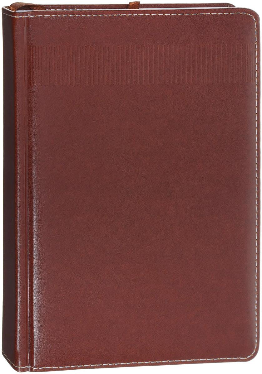Index Ежедневник Avanti недатированный 336 листов цвет коричневый формат А5 ежедневник недатированный index spectrum ф а5 кожзам лин ляссе 256с бирюзовый idn121 a5 tq
