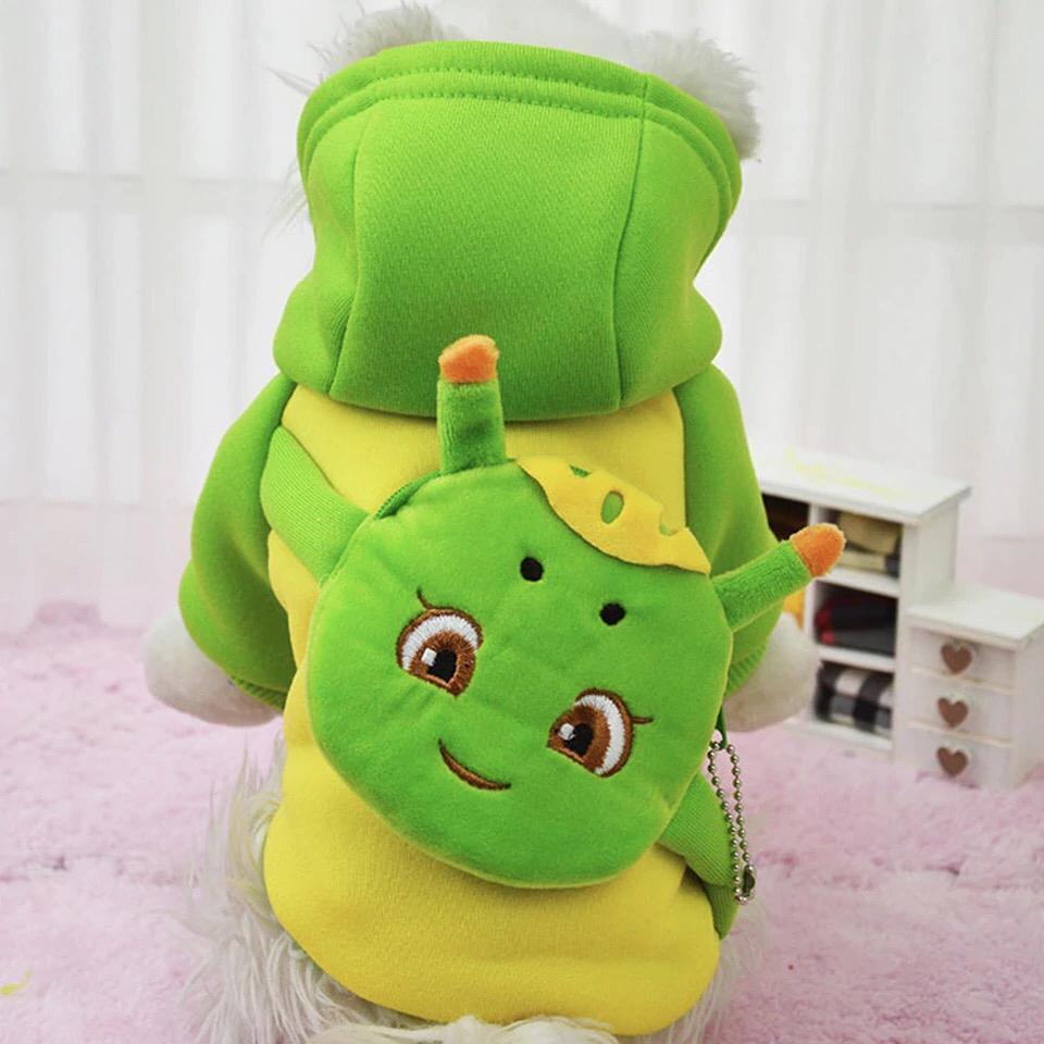 Одежда для собак Arnydog.ru Толстовка 8# ЛягушонокGG-3-8_sКарнавальная толстовка ярко-зеленого цвета с лягушонком на спине. Будет веселой частью гардероба, привлекать внимание прохожих. Кофта является отличным вариантом для повседневных прогулок. Удобно застегивается на кнопки на животе.
