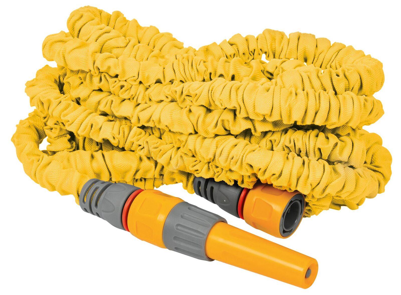 Шланг HoZelock универсальный для полива растягивающийся 8230, 30 м + коннекторы и наконечник шланга