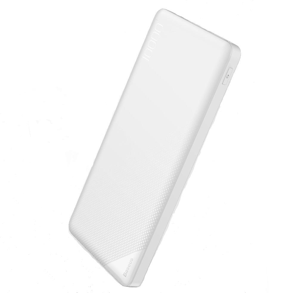 Внешний аккумулятор Baseus PPALL-KU02, белый внешний аккумулятор baseus 15609 белый