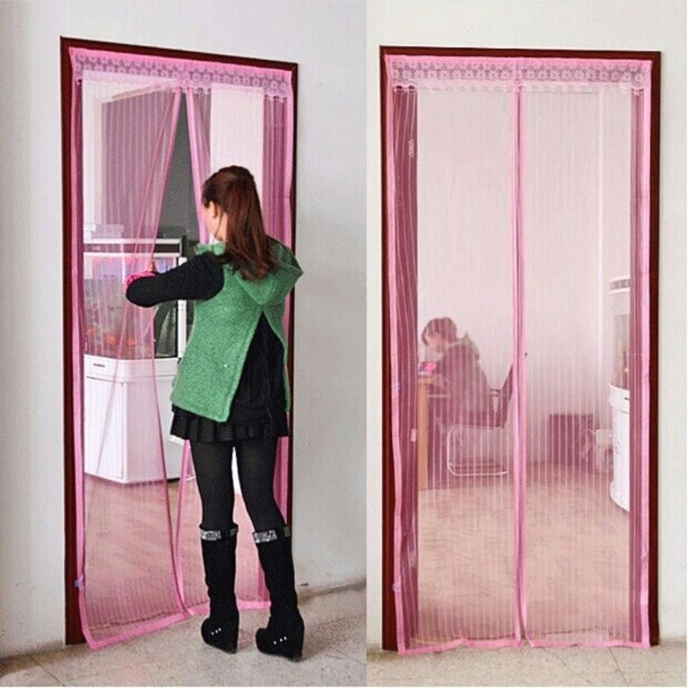 Фото - Сетка антимоскитная MARKETHOT Сетка москитная на магнитах, розовый антимоскитная сетка afa подъемник складной