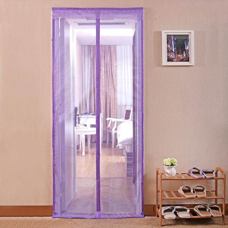 Фото - Сетка антимоскитная MARKETHOT Сетка москитная на магнитах, фиолетовый антимоскитная сетка afa подъемник складной
