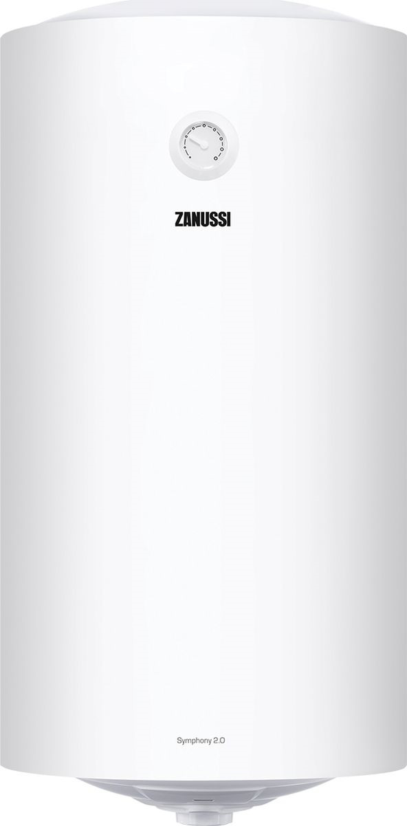 Водонагреватель накопительный электрическийZanussiZWH/S100Symphony2.0, 100 л, белый