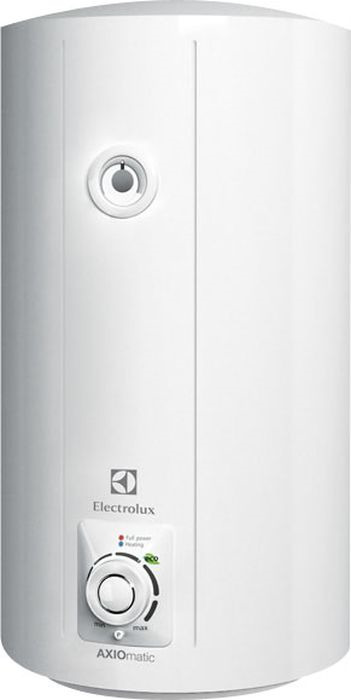 Водонагреватель накопительный электрический ElectroluxEWH80AXIOmatic, 80 л, белый