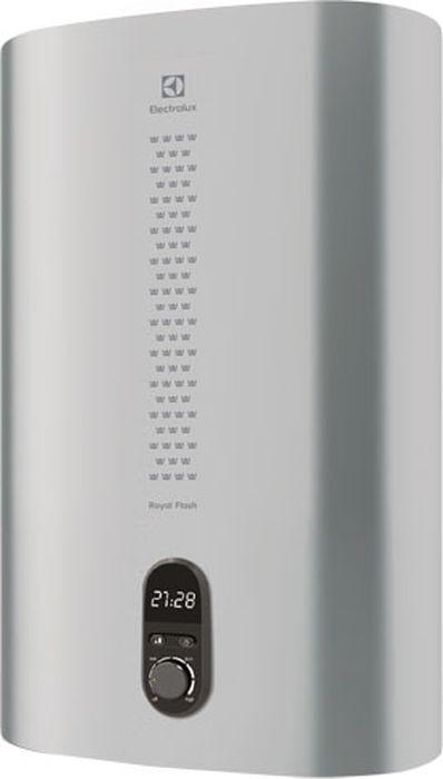 Водонагреватель накопительныйэлектрический ElectroluxEWH80RoyalFlashSilver, 80 л, серебристый