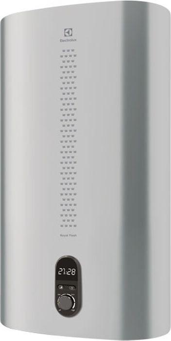 Водонагреватель накопительный электрическийElectroluxEWH100RoyalFlashSilver, 100 л, серебристый