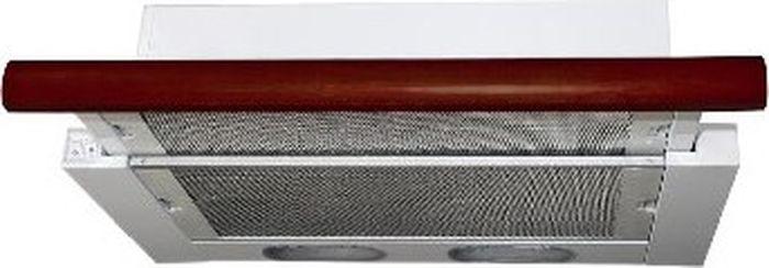 Фото - Вытяжка Elikor Интегра 50П-400-В2Л, белый, венге встраиваемая вытяжка elikor интегра 50н 400 в2л белый дуб венге