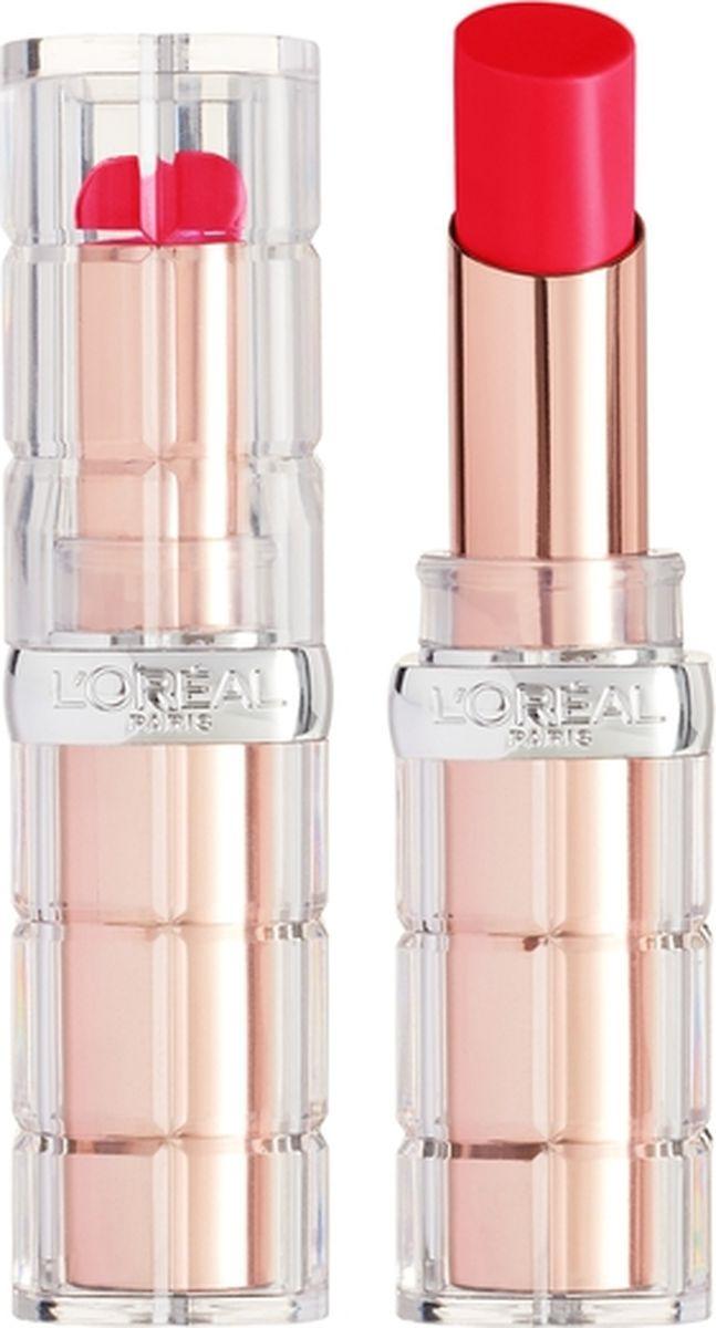 Губная помада L'Oreal Paris Color Riche Plump and Shine, визуально увеличивающая объем, оттенок 102, красный, 3,8 мл