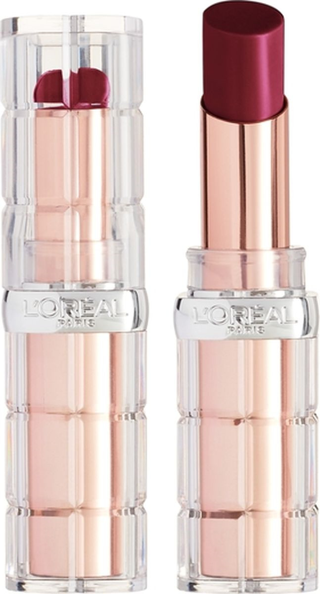 Губная помада L'Oreal Paris Color Riche Plump and Shine, визуально увеличивающая объем, оттенок 108, бордо, 3,8 мл