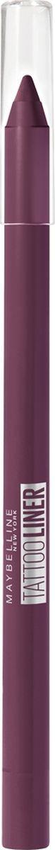 Карандаш для глаз Maybelline New York Tatoo Liner, гелевый, интенсивный цвет, оттенок 942, ягодный, 1,3 г